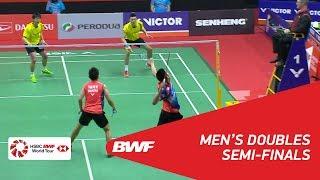 【Video】GOH V Shem・TAN Wee Kiong VS CHEN Hung Ling・WANG Chi-Lin, PERODUA Malaysia Masters 2018 semifinal