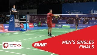 【Video】LIN Dan VS Jonatan CHRISTIE, BARFOOT & THOMPSON New Zealand Open 2018 finals