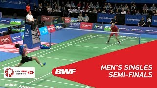【Video】LIN Dan VS HEO Kwang Hee, BARFOOT & THOMPSON New Zealand Open 2018 semifinal