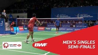 【Video】SAI PRANEETH B. VS Jonatan CHRISTIE, BARFOOT & THOMPSON New Zealand Open 2018 semifinal