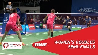 【Video】CAO Tong Wei・YU Zheng VS KIM Hye Rin・KONG Hee Yong, BARFOOT & THOMPSON New Zealand Open 2018 semifinal