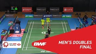 【Video】Berry ANGRIAWAN・Hardianto HARDIANTO VS Wahyu Nayaka ARYA PANGKARYANIRA・Ade Yusuf SANTOSO, CROWN GROUP Australian Open 201