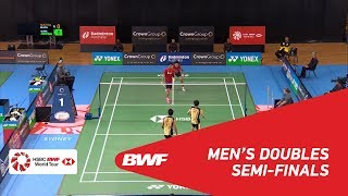 【Video】Wahyu Nayaka ARYA PANGKARYANIRA・Ade Yusuf SANTOSO VS Keiichiro MATSUI・Yoshinori TAKEUCHI, CROWN GROUP Australian Open 201
