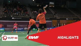 【Video】Berry ANGRIAWAN・Hardianto HARDIANTO VS ATTRI Manu・REDDY B. Sumeeth, CROWN GROUP Australian Open 2018 semifinal