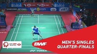 【Video】Viktor AXELSEN VS Kanta TSUNEYAMA, BLIBLI Indonesia Open 2018 quarter finals