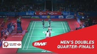 【Video】LIAO Min Chun・SU Ching Heng VS Berry ANGRIAWAN・Hardianto HARDIANTO, BLIBLI Indonesia Open 2018 quarter finals