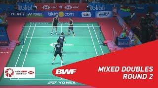 【Video】ZHANG Nan・LI Yinhui VS LEE Chun Hei Reginald・CHAU Hoi Wah, BLIBLI Indonesia Open 2018 best 16