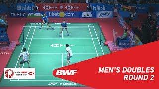 【Video】LIAO Min Chun・SU Ching Heng VS Hiroyuki ENDO・Yuta WATANABE, BLIBLI Indonesia Open 2018 best 16