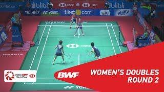 【Video】Yuki FUKUSHIMA・Sayaka HIROTA VS Vivian HOO・YAP Cheng Wen, BLIBLI Indonesia Open 2018 best 16