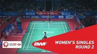 【Video】Gregoria Mariska TUNJUNG VS Ratchanok INTANON, BLIBLI Indonesia Open 2018 best 16