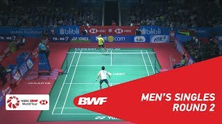 【Video】Anthony Sinisuka GINTING VS Kento MOMOTA, BLIBLI Indonesia Open 2018 best 16