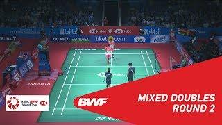 【Video】Tontowi AHMAD・Liliyana NATSIR VS Yugo KOBAYASHI・Misaki MATSUTOMO, BLIBLI Indonesia Open 2018 best 16