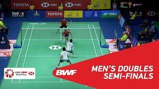 【Video】Hiroyuki ENDO・Yuta WATANABE VS Bodin ISARA・Maneepong JONGJIT, TOYOTA Thailand Open 2018 semifinal