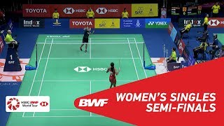 【Video】Gregoria Mariska TUNJUNG VS PUSARLA V. Sindhu, TOYOTA Thailand Open 2018 semifinal
