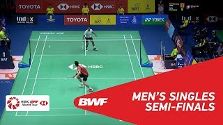 【Video】Suppanyu AVIHINGSANON VS Tommy SUGIARTO, TOYOTA Thailand Open 2018 semifinal