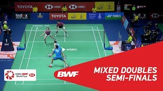 【Video】Chris ADCOCK・Gabrielle ADCOCK VS WANG Chi-Lin・LEE Chia Hsin, TOYOTA Thailand Open 2018 semifinal