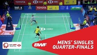【Video】Kanta TSUNEYAMA VS Khosit PHETPRADAB, TOYOTA Thailand Open 2018 quarter finals
