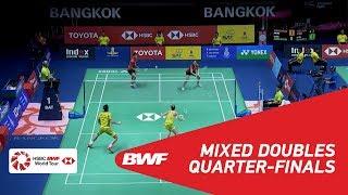 【Video】Chris ADCOCK・Gabrielle ADCOCK VS Praveen JORDAN・Melati Daeva OKTAVIANTI, TOYOTA Thailand Open 2018 quarter finals