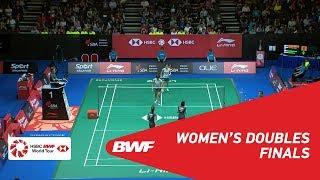 【Video】Ayako SAKURAMOTO・Yukiko TAKAHATA VS Nami MATSUYAMA・Chiharu SHIDA, Singapore Open 2018 finals