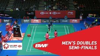 【Video】OU Xuanyi・Xiangyu REN VS HAN Chengkai・ZHOU Haodong, Singapore Open 2018 semifinal