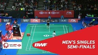 【Video】CHOU Tien Chen VS QIAO Bin, Singapore Open 2018 semifinal