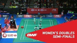 【Video】Ayako SAKURAMOTO・Yukiko TAKAHATA VS Jongkolphan KITITHARAKUL・Rawinda PRAJONGJAI, Singapore Open 2018 semifinal