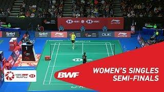 【Video】GAO Fangjie VS Nitchaon JINDAPOL, Singapore Open 2018 semifinal