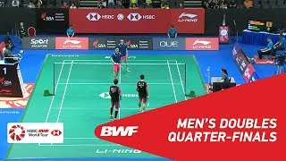 【Video】HAN Chengkai・ZHOU Haodong VS PO Li-Wei・YANG Ming-Tse, Singapore Open 2018 quarter finals