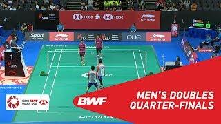 【Video】Mohammad AHSAN・Hendra SETIAWAN VS Tinn ISRIYANET・Kittisak NAMDASH, Singapore Open 2018 quarter finals