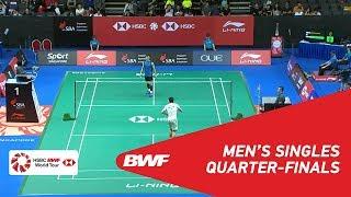 【Video】CHOU Tien Chen VS LEE Hyun Il, Singapore Open 2018 quarter finals