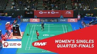 【Video】CHEN Su Yu VS Nitchaon JINDAPOL, Singapore Open 2018 quarter finals