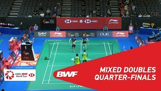 【Video】Tontowi AHMAD・Liliyana NATSIR VS LEE Chun Hei Reginald・CHAU Hoi Wah, Singapore Open 2018 quarter finals