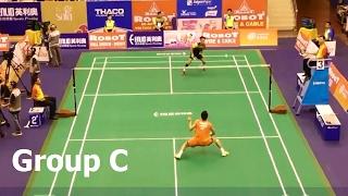 【Video】Kenta NISHIMOTO VS Ros Leonard PEDROSA, ROBOT Badminton Asia Mixed Team Championships 2017 other