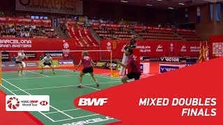 【Video】Niclas NOHR・Sara THYGESEN VS Marcus ELLIS・Lauren SMITH, Spanish Open 2018 finals