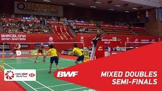 【Video】Niclas NOHR・Sara THYGESEN VS CHEN Tang Jie・Yen Wei PECK, Spanish Open 2018 semifinal
