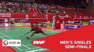 【Video】Toby PENTY VS Rasmus GEMKE, Spanish Open 2018 semifinal