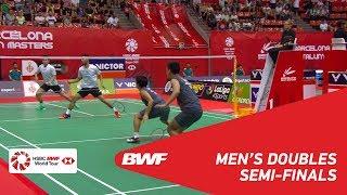 【Video】Bodin ISARA・Maneepong JONGJIT VS Akira KOGA・Taichi SAITO, Spanish Open 2018 semifinal