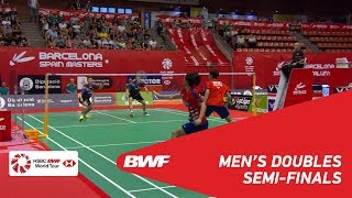 【Video】KIM Gi Jung・LEE Yong Dae VS CHEN Tang Jie・Wei Chong MAN, Spanish Open 2018 semifinal
