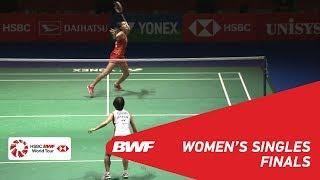 【Video】Nozomi OKUHARA VS Carolina MARIN, DAIHATSU YONEX Japan Open 2018 finals