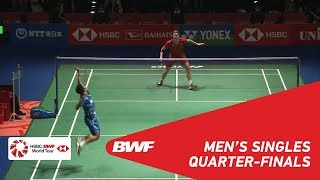 【Video】Viktor AXELSEN VS Anthony Sinisuka GINTING, DAIHATSU YONEX Japan Open 2018 quarter finals