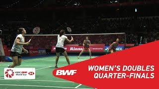 【Video】Yuki FUKUSHIMA・Sayaka HIROTA VS Jongkolphan KITITHARAKUL・Rawinda PRAJONGJAI, DAIHATSU YONEX Japan Open 2018 quarter final