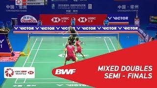 【Video】ZHANG Nan・LI Yinhui VS WANG Yilyu・HUANG Dongping, VICTOR China Open 2018 semifinal