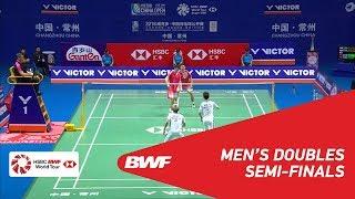 【Video】HAN Chengkai・ZHOU Haodong VS Marcus Fernaldi GIDEON・Kevin Sanjaya SUKAMULJO, VICTOR China Open 2018 semifinal