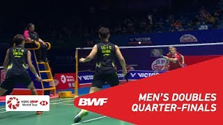 【Video】Kim ASTRUP・Anders Skaarup RASMUSSEN VS LI Junhui・LIU Yuchen, VICTOR China Open 2018 quarter finals