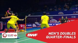 【Video】CHEN Hung Ling・WANG Chi-Lin VS HE Jiting・TAN Qiang, VICTOR China Open 2018 quarter finals