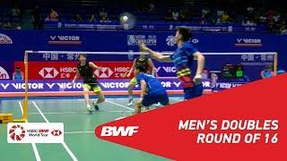 【Video】LI Junhui・LIU Yuchen VS ONG Yew Sin・TEO Ee Yi, VICTOR China Open 2018 best 16
