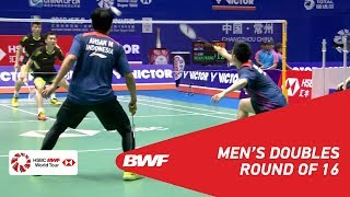【Video】HUANG Kaixiang・WANG Yilyu VS Mohammad AHSAN・Hendra SETIAWAN, VICTOR China Open 2018 best 16
