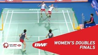 【Video】Misaki MATSUTOMO・Ayaka TAKAHASHI VS Yuki FUKUSHIMA・Sayaka HIROTA, VICTOR Korea Open 2018 finals