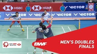 【Video】Hiroyuki ENDO・Yuta WATANABE VS Takuro HOKI・Yugo KOBAYASHI, VICTOR Korea Open 2018 finals