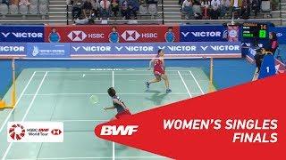 【Video】Beiwen ZHANG VS Nozomi OKUHARA, VICTOR Korea Open 2018 finals